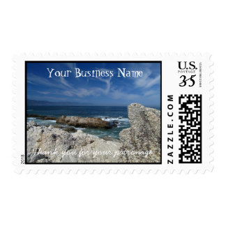 Wispy Clouds Over the Rocks; Promotional Postage