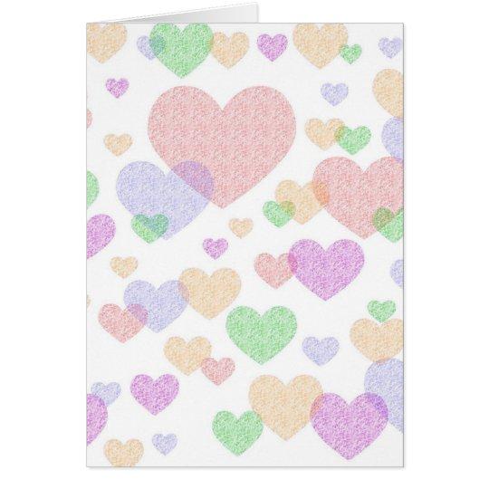 Wispy Hearts card