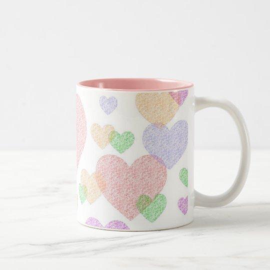 Wispy Hearts mug