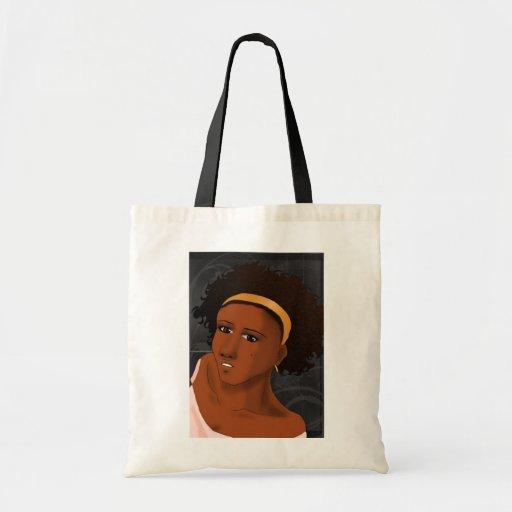 Wispy tote -color tote bag