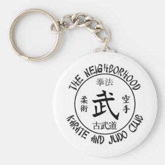 Wissler Back Basic Round Button Keychain