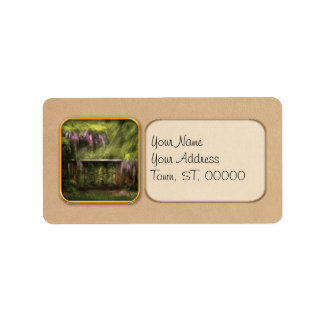 Wisteria - A lovers view Personalized Address Labels