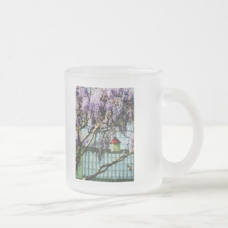 Wisteria and Birdhouse Coffee Mug
