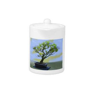 Wisteria Bonsai Tree Teapot
