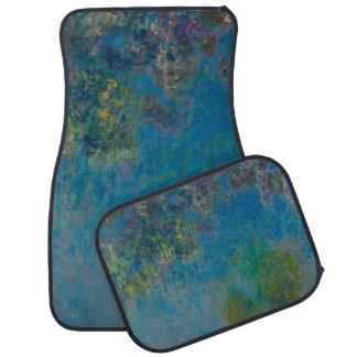 Wisteria by Claude Monet Car Floor Mat