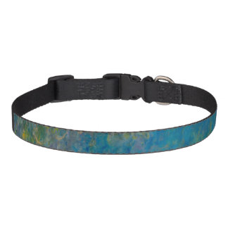 Wisteria by Claude Monet Pet Collar