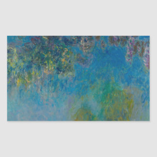 Wisteria by Claude Monet Stickers