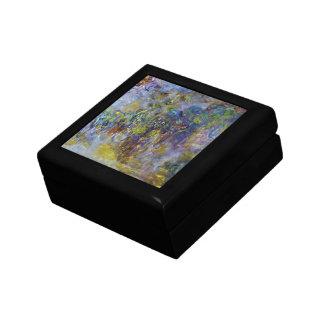 Wisteria by Claude Monet, Vintage Impressionism Jewelry Box