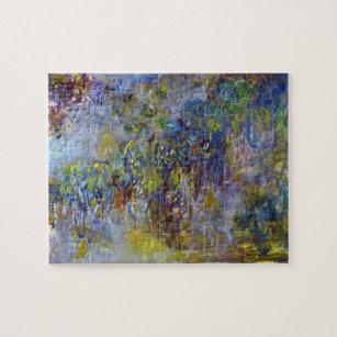 Wisteria by Claude Monet, Vintage Impressionism Jigsaw Puzzle
