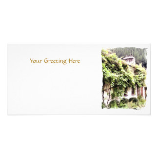 WISTERIA COTTAGE PHOTO CARD