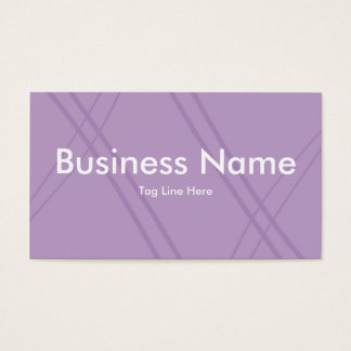 Wisteria Crissed Crossed Business Card