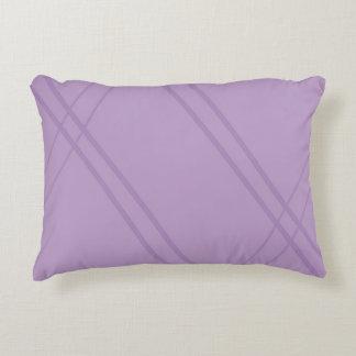 Wisteria Crissed Crossed Decorative Pillow