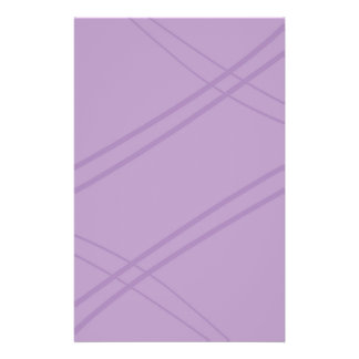 Wisteria Crissed Crossed Stationery