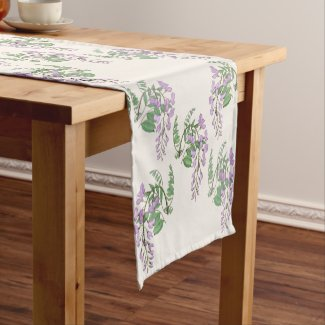 Wisteria Dream Table Runner 14x72