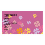 Wisteria Floral Design Double-Sided Standard Business Cards (Pack Of 100)