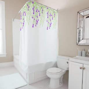 Wisteria Flowering Shower Curtain