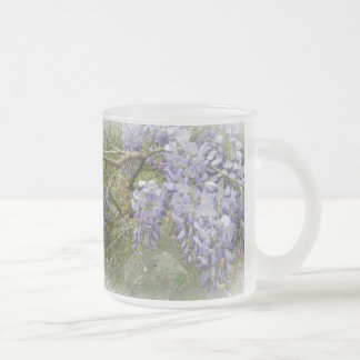 Wisteria in the Woods Frosted Glass Coffee Mug