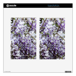 Wisteria Kindle Fire Decal