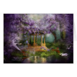 Wisteria Lake ArtCard Greeting Cards