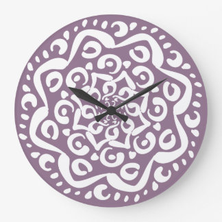 Wisteria Large Clock