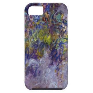 Wisteria (left) by Claudet Monet, Vintage Flowers iPhone SE/5/5s Case