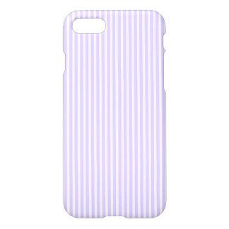 Wisteria Lilac Lavender Orchid & White Stripe iPhone 7 Case