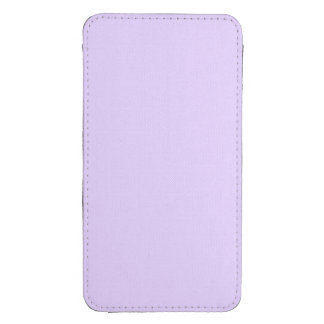 Wisteria Lilac Pastel for Summer Gazebo Galaxy S4 Pouch