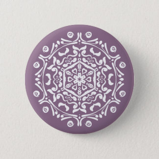 Wisteria Mandala Button