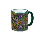 Wisteria 'n Birds (Ceramic Mug)