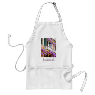 Wisteria on a Vintage Southern  Home in Savannah Adult Apron