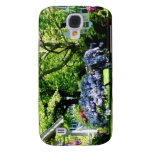 Wisteria on Lawn Samsung Galaxy S4 Cases