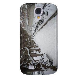 Wisteria Pergola in Winter, Central Park, NYC Samsung Galaxy S4 Cover