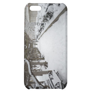 Wisteria Pergola in Winter, Central Park, NYC Cover For iPhone 5C