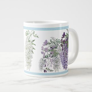 Wisteria Profusion Botanique Mug