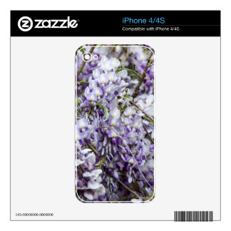 Wisteria Skin For The iPhone 4