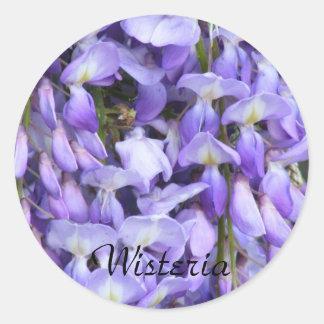 Wisteria sticker