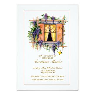 Wisteria Trellis Invitation