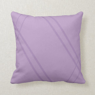 Wisteria/YellowGreen Crissed Crossed Throw Pillow