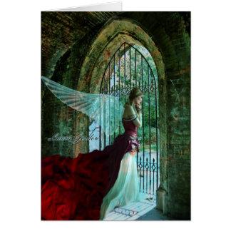 Wistful Angel Card