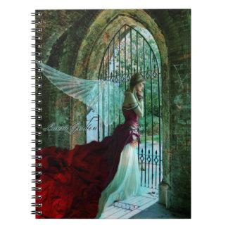 Wistful Angel Notebook