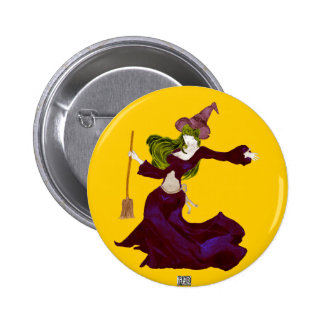Wistful Witch Button