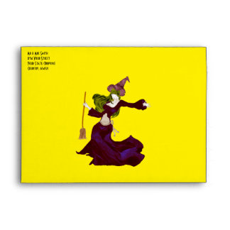 Wistful Witch Envelope