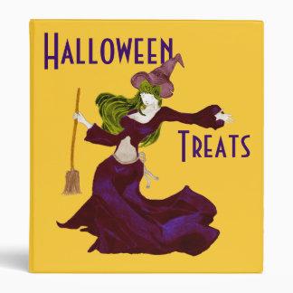 Wistful Witch, Halloween Treats Binder