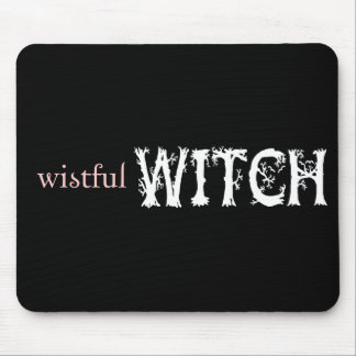 Wistful Witch Mouse Pad