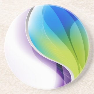 Wistfull Colors Drink Coaster Coaster
