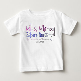 Wit & Whimzy Reborn Nursery Toddler T-Shirt