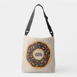 Wit, wisdom and sarcasm crossbody bag