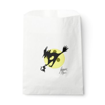 Halloween Themed Witch 1 favor bag
