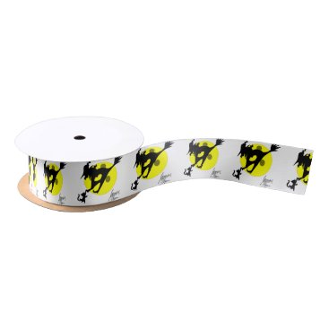 Halloween Themed Witch 1 satin ribbon
