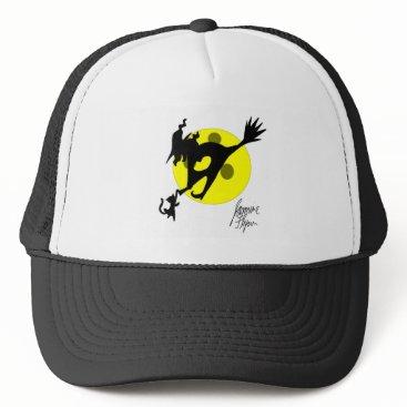 Halloween Themed Witch 1 trucker hat